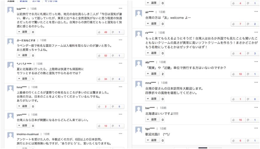 夏に行きたい場所1位は「北海道」=訪日リピーターの台湾人女性に調査 yahoo