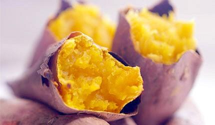 日本美食蔬菜烤地瓜蕃薯示意圖
