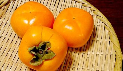 日本美食水果柿子秋柿示意圖