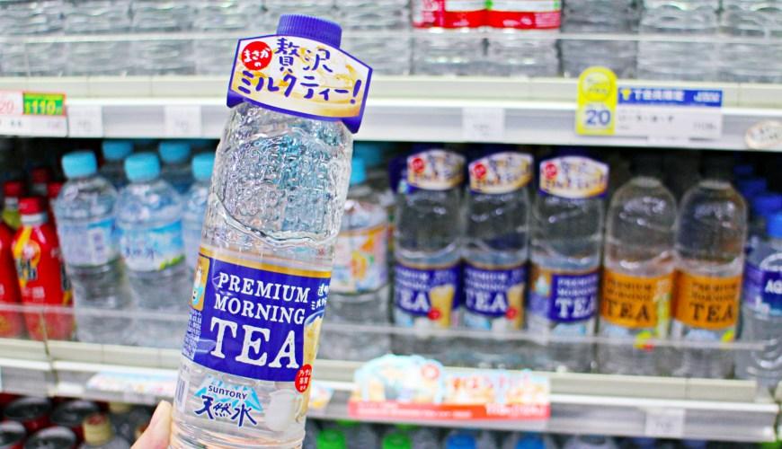 日本SUNTORY透明奶茶與透明檸檬紅茶,哪裡買?日本便利商店超市可買