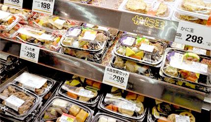 日本超市四大必買商品,日本家庭小菜