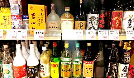 日本超市四大必買商品,各式酒類