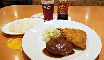 日本親子餐廳家庭餐廳denny's