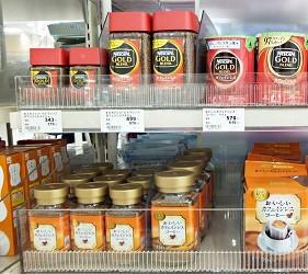 Nescafe與UCC低咖啡因的咖啡