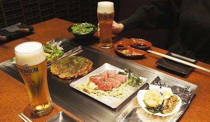 日本和牛居酒屋「響や」的響や套餐(6,300日圓/1人份)