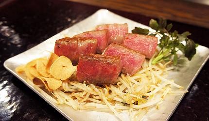 日本東京和牛鐵板燒料理銀座「響や」和牛鐵板燒!超美味!