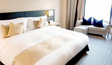 日本飯店旅館雙人床
