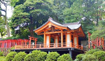 根津乙女稻荷神社