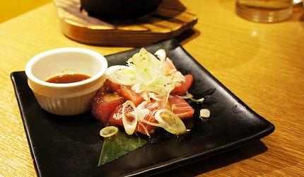 東京新橋海鮮料理ニッポンまぐろ漁業団的鮪魚燒肉