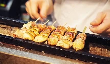 東京美食推薦串燒居酒屋「鶏鬨 勝どき店」的雞肉串燒