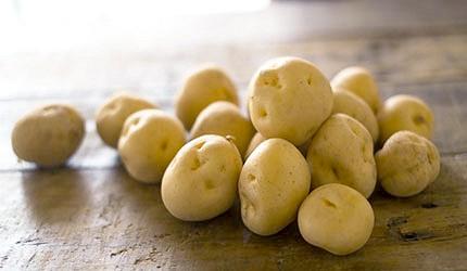 日本春天春季美食新馬鈴薯示意圖