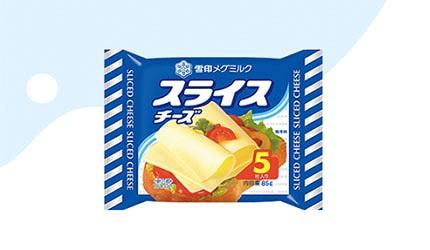 日本雪印起司片