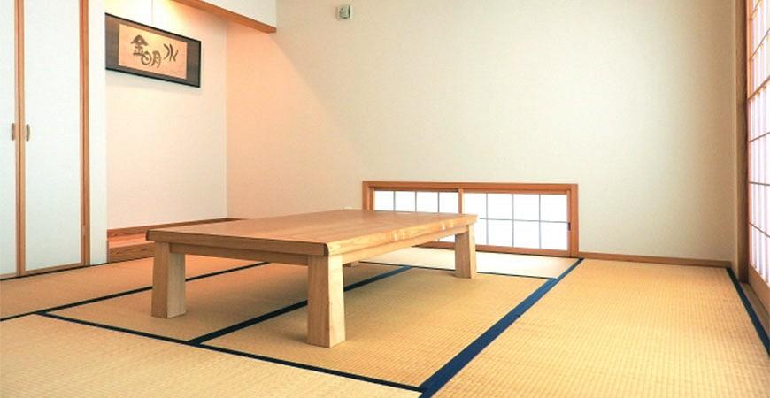 日本和室和風榻榻米示意圖