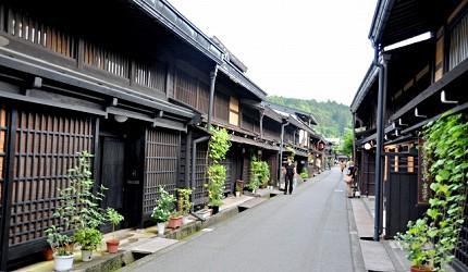 日本中部飛驒高山老街