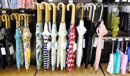 不論摺傘或是直傘都有各種長度