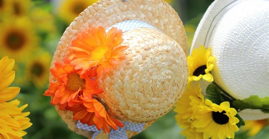 夏の風物詩日本夏天流行時尚草帽遮陽