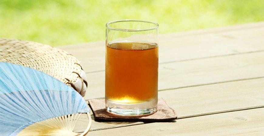夏の風物詩日本夏天無糖麥茶冰茶