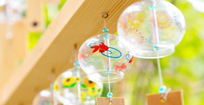 夏の風物詩日本夏天風鈴