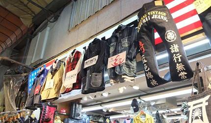 在高架橋下的商店街內仍有許多美式風格的服飾店