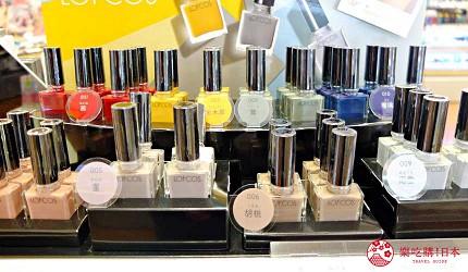「LoFt」旗下的美妝品牌「LOFCOS」,指彩非常有質感