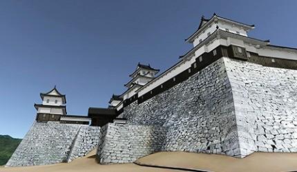 丸龜城擁有日本第一高的石垣