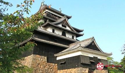 松江城的天守被譽為最正統的天守