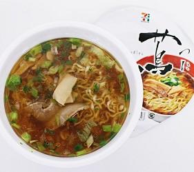 日本人氣拉麵店泡麵蔦泡好的狀態