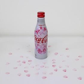 日本櫻花商品可口可樂罐子