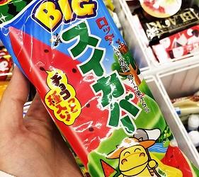 日本夏天必吃冰:大西瓜冰棒(BIG スイカバー)