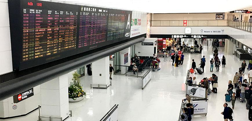 日本自由行不卡卡,搭機到出關步驟日語一次搞懂