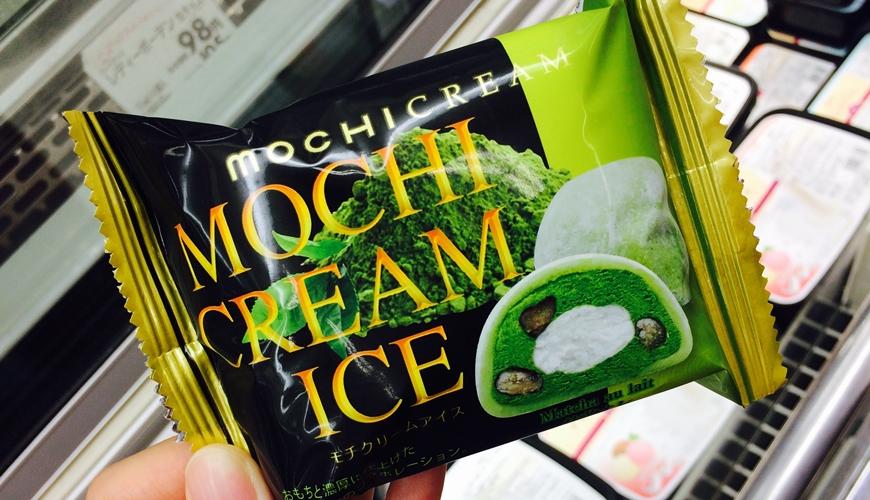 超市必買抹茶麻糬冰