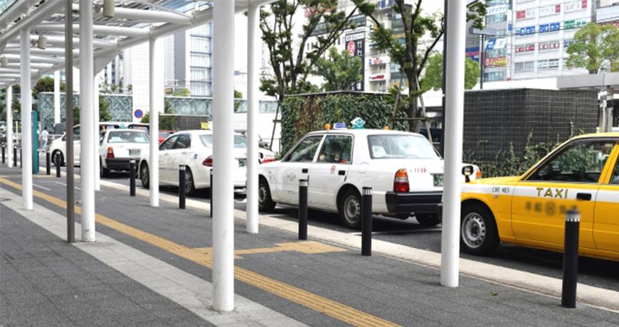 日本東京大阪九州關西沖繩交通方便快捷搭的士計程車taxi的的士站