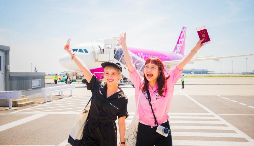 樂桃航空日本自由行東京大阪沖繩仙台北海道廉航