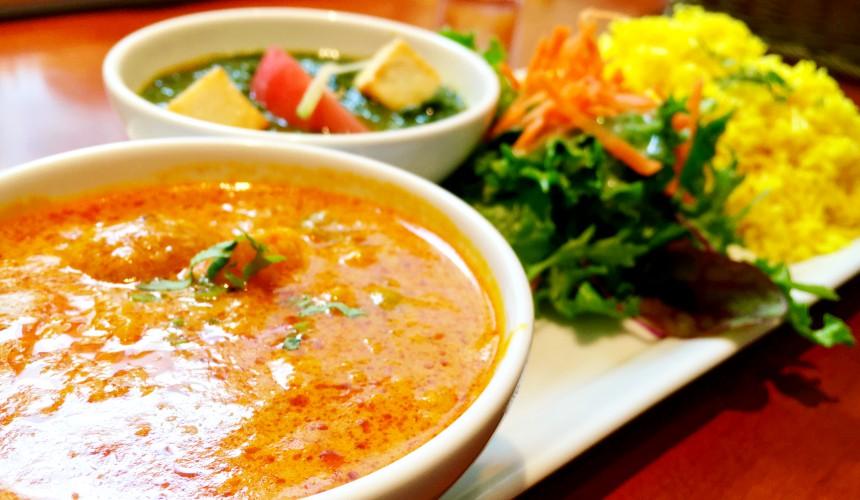 日本的印度料理餐比較容易有素食