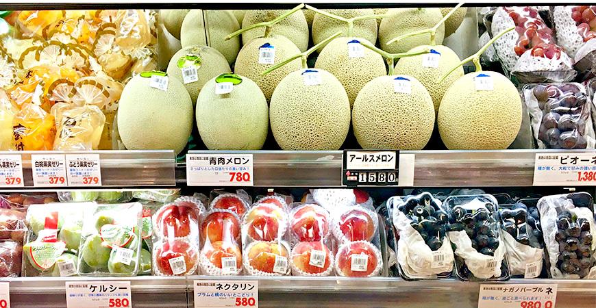 日本超市四大必買商品,新鮮水果