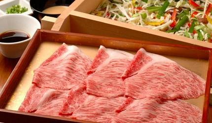日本和牛国产牛A5A4黑毛和牛蒸笼