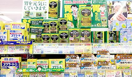 「樂吃購!日本」日本藥妝店購物攻略!腸胃藥示意圖