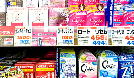 「樂吃購!日本」日本藥妝店購物攻略!眼藥水示意圖