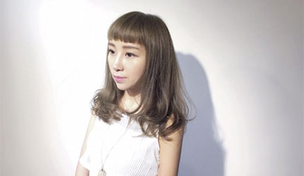 日本美容院剪髮日語!眉上齊瀏海(まゆ上ぱっつん)示意圖