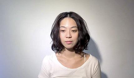 日本美容院剪髮日語!中分瀏海(センターパート)示意圖