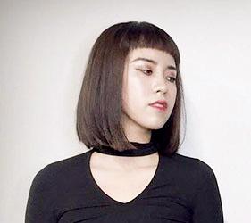 日本美容院剪髮日語!長鮑伯(ボブ)示意圖