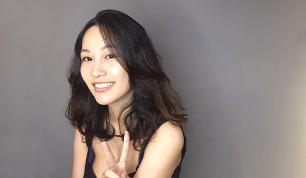 日本美容院剪髮日語!左邊旁分髮型(右分け目)示意圖