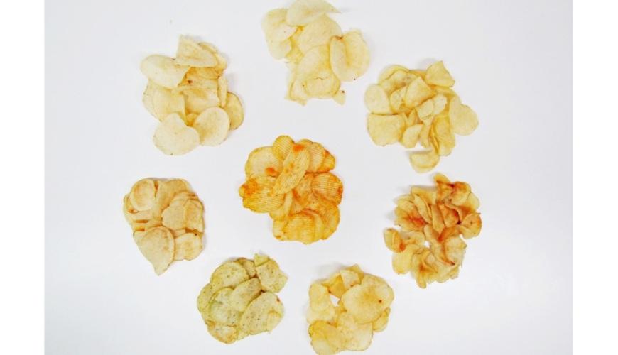 日本便利商店超市人氣洋芋片試吃分析!「Calbee」與「湖池屋」洋芋片及合照