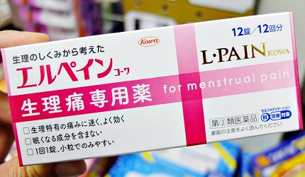 L・PAIN KOWA生理止痛藥