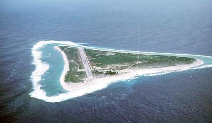 日本領土最東端的南鳥島