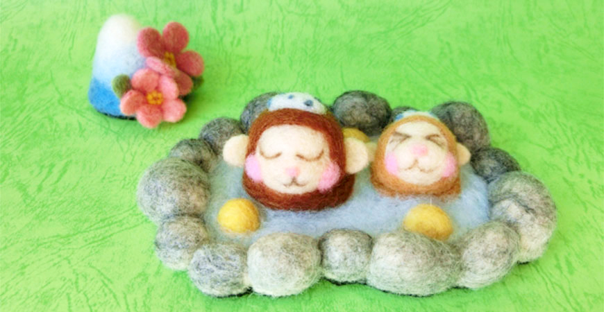 猴子泡湯示意圖