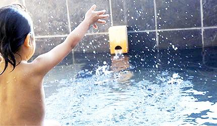 小孩浴池玩水示意圖