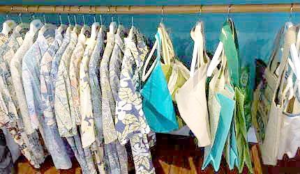 ALOHACAFE LILIKOI夏威夷花衬衫帆布包