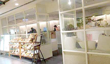 日本JR冈山一番街chano-ma和式咖啡厅
