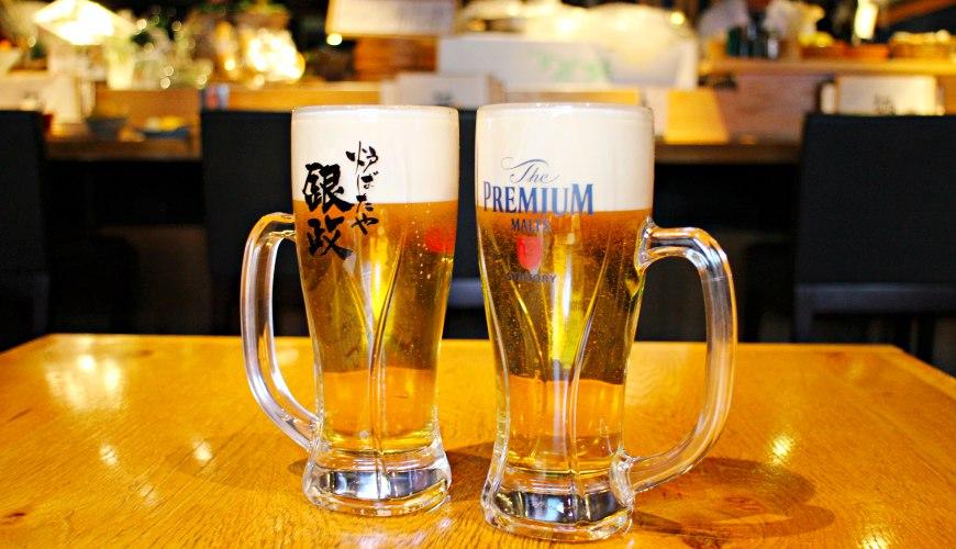 日本和食料理推薦店家銀政爐端燒The Premium Malt's